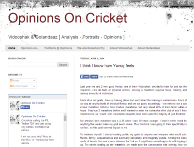 Check out This Cricket Blog